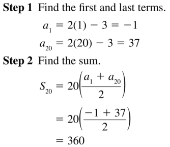 Big Ideas Math Algebra 2 Answers Chapter 8 Sequences and Series 8.2 a 47