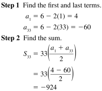 Big Ideas Math Algebra 2 Answers Chapter 8 Sequences and Series 8.2 a 49