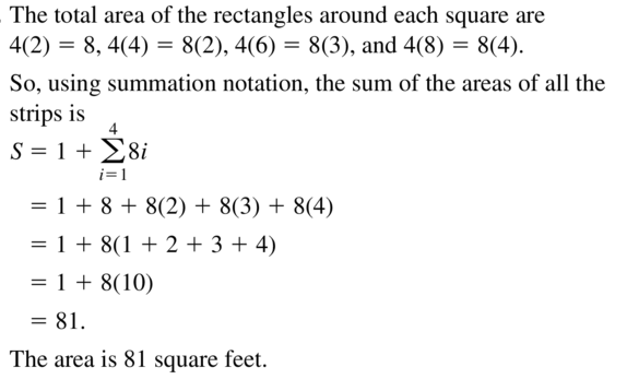 Big Ideas Math Algebra 2 Answers Chapter 8 Sequences and Series 8.2 a 57