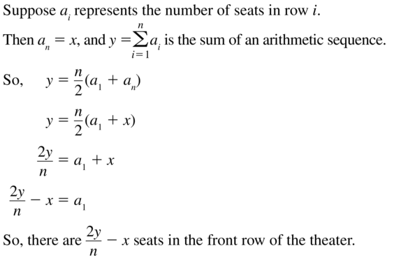 Big Ideas Math Algebra 2 Answers Chapter 8 Sequences and Series 8.2 a 63