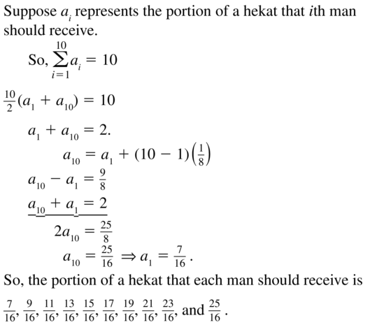 Big Ideas Math Algebra 2 Answers Chapter 8 Sequences and Series 8.2 a 65