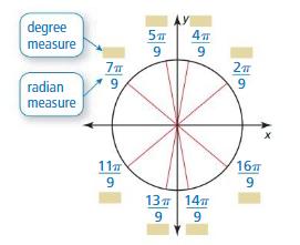Big Ideas Math Algebra 2 Answers Chapter 9 Trigonometric Ratios and Functions 9.2 2
