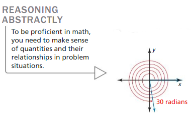 Big Ideas Math Algebra 2 Answers Chapter 9 Trigonometric Ratios and Functions 9.2 3