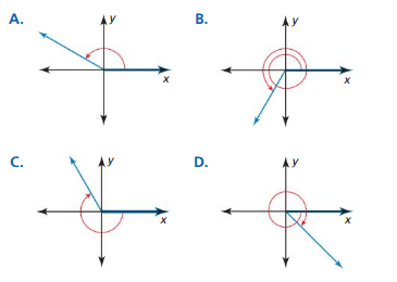 Big Ideas Math Algebra 2 Answers Chapter 9 Trigonometric Ratios and Functions 9.2 6