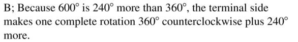 Big Ideas Math Algebra 2 Answers Chapter 9 Trigonometric Ratios and Functions 9.2 a 23