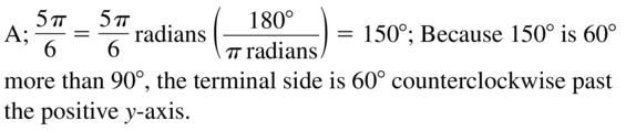 Big Ideas Math Algebra 2 Answers Chapter 9 Trigonometric Ratios and Functions 9.2 a 25