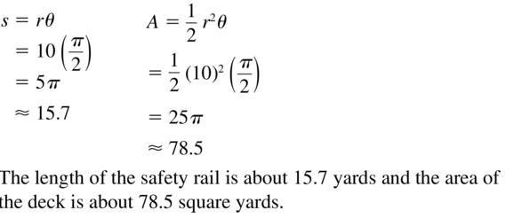 Big Ideas Math Algebra 2 Answers Chapter 9 Trigonometric Ratios and Functions 9.2 a 27