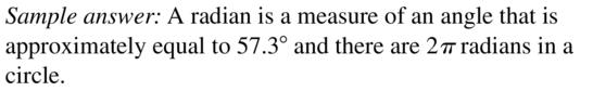Big Ideas Math Algebra 2 Answers Chapter 9 Trigonometric Ratios and Functions 9.2 a 3