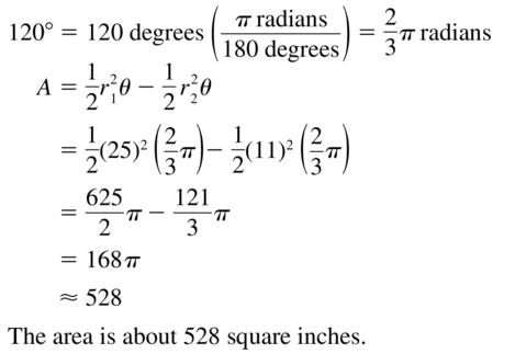 Big Ideas Math Algebra 2 Answers Chapter 9 Trigonometric Ratios and Functions 9.2 a 39