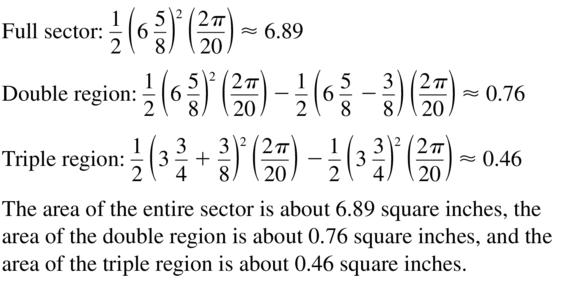 Big Ideas Math Algebra 2 Answers Chapter 9 Trigonometric Ratios and Functions 9.2 a 43
