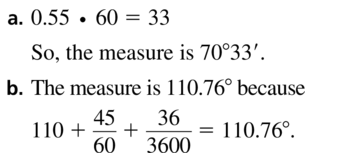 Big Ideas Math Algebra 2 Answers Chapter 9 Trigonometric Ratios and Functions 9.2 a 47