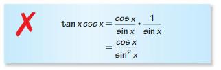 Big Ideas Math Algebra 2 Answers Chapter 9 Trigonometric Ratios and Functions 9.7 5