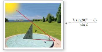 Big Ideas Math Algebra 2 Answers Chapter 9 Trigonometric Ratios and Functions 9.7 7
