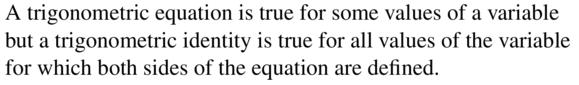 Big Ideas Math Algebra 2 Answers Chapter 9 Trigonometric Ratios and Functions 9.7 a 1