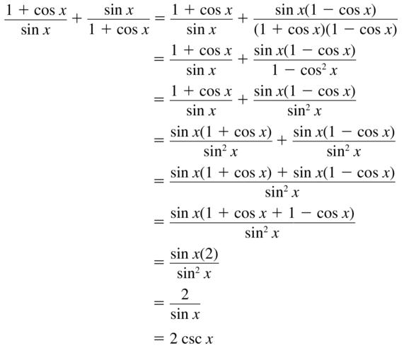 Big Ideas Math Algebra 2 Answers Chapter 9 Trigonometric Ratios and Functions 9.7 a 29