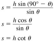 Big Ideas Math Algebra 2 Answers Chapter 9 Trigonometric Ratios and Functions 9.7 a 35