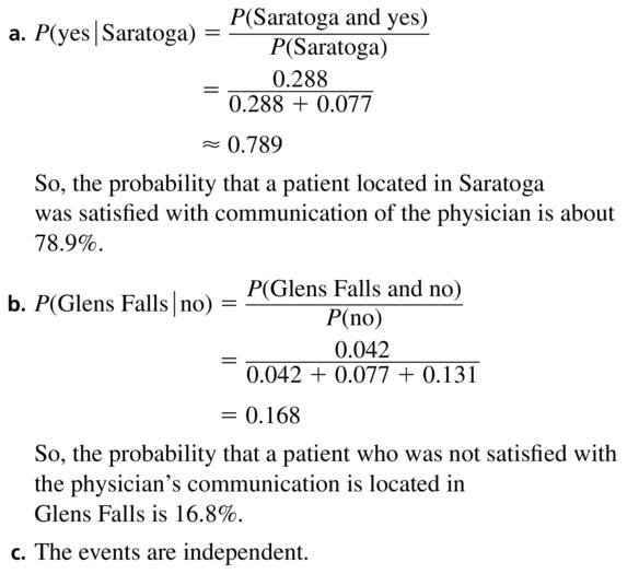 Big Ideas Math Algebra 2 Solutions Chapter 10 Probability 10.3 a 13