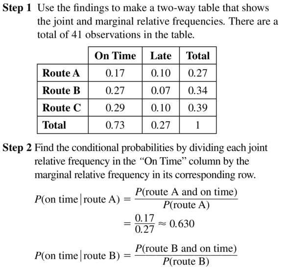 Big Ideas Math Algebra 2 Solutions Chapter 10 Probability 10.3 a 17.1