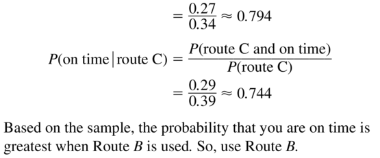 Big Ideas Math Algebra 2 Solutions Chapter 10 Probability 10.3 a 17.2