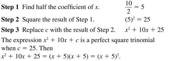 Big Ideas Math Algebra 2 Solutions Chapter 3 Quadratic Equations and Complex Numbers 3.3 a 11