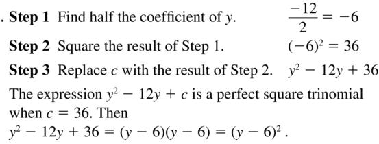 Big Ideas Math Algebra 2 Solutions Chapter 3 Quadratic Equations and Complex Numbers 3.3 a 13