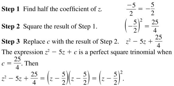 Big Ideas Math Algebra 2 Solutions Chapter 3 Quadratic Equations and Complex Numbers 3.3 a 17