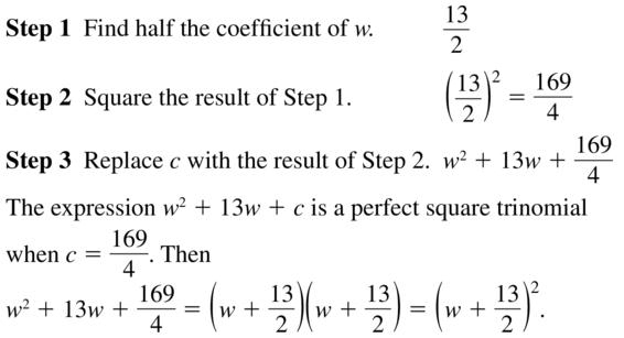 Big Ideas Math Algebra 2 Solutions Chapter 3 Quadratic Equations and Complex Numbers 3.3 a 19
