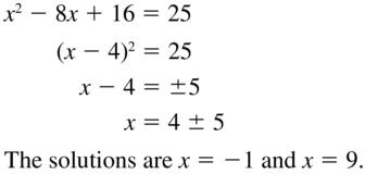 Big Ideas Math Algebra 2 Solutions Chapter 3 Quadratic Equations and Complex Numbers 3.3 a 3