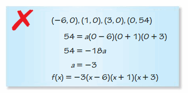 Big Ideas Math Algebra 2 Solutions Chapter 4 Polynomial Functions 127