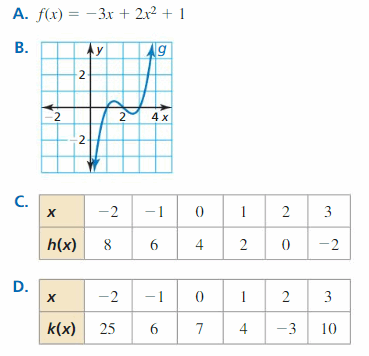Big Ideas Math Algebra 2 Solutions Chapter 4 Polynomial Functions 134