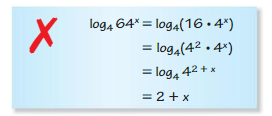 Big Ideas Math Algebra 2 Solutions Chapter 6 Exponential and Logarithmic Functions 6.3 7
