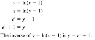 Big Ideas Math Algebra 2 Solutions Chapter 6 Exponential and Logarithmic Functions 6.3 a 47