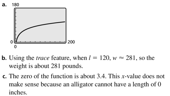 Big Ideas Math Algebra 2 Solutions Chapter 6 Exponential and Logarithmic Functions 6.3 a 67