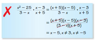 Big Ideas Math Algebra 2 Solutions Chapter 7 Rational Functions 7.3 6