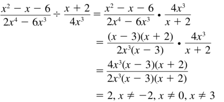 Big Ideas Math Algebra 2 Solutions Chapter 7 Rational Functions 7.3 a 29