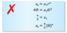 Big Ideas Math Algebra 2 Solutions Chapter 8 Sequences and Series 8.3 3