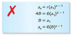 Big Ideas Math Algebra 2 Solutions Chapter 8 Sequences and Series 8.3 4
