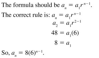 Big Ideas Math Algebra 2 Solutions Chapter 8 Sequences and Series 8.3 a 31