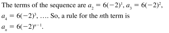 Big Ideas Math Algebra 2 Solutions Chapter 8 Sequences and Series 8.3 a 45