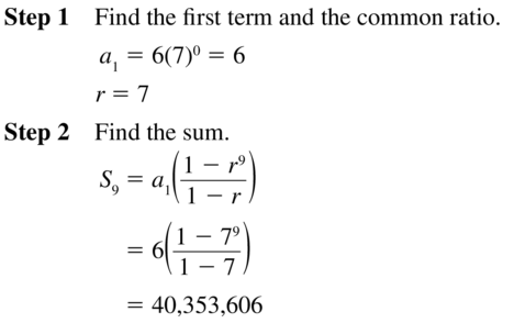 Big Ideas Math Algebra 2 Solutions Chapter 8 Sequences and Series 8.3 a 47