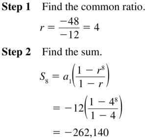 Big Ideas Math Algebra 2 Solutions Chapter 8 Sequences and Series 8.3 a 53