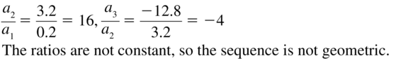 Big Ideas Math Algebra 2 Solutions Chapter 8 Sequences and Series 8.3 a 9