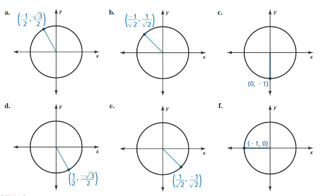 Big Ideas Math Algebra 2 Solutions Chapter 9 Trigonometric Ratios and Functions 9.3 2
