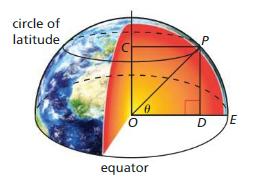 Big Ideas Math Algebra 2 Solutions Chapter 9 Trigonometric Ratios and Functions 9.3 22