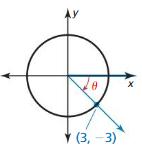 Big Ideas Math Algebra 2 Solutions Chapter 9 Trigonometric Ratios and Functions 9.3 3