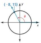 Big Ideas Math Algebra 2 Solutions Chapter 9 Trigonometric Ratios and Functions 9.3 4