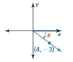 Big Ideas Math Algebra 2 Solutions Chapter 9 Trigonometric Ratios and Functions 9.3 6