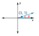 Big Ideas Math Algebra 2 Solutions Chapter 9 Trigonometric Ratios and Functions 9.3 9