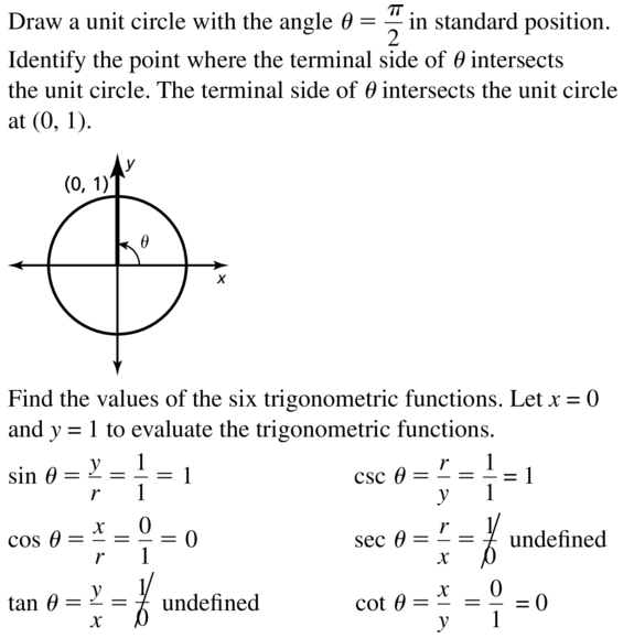 Big Ideas Math Algebra 2 Solutions Chapter 9 Trigonometric Ratios and Functions 9.3 a 11