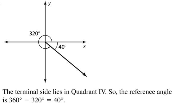 Big Ideas Math Algebra 2 Solutions Chapter 9 Trigonometric Ratios and Functions 9.3 a 17